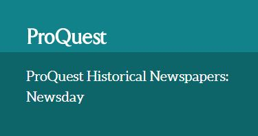 ProQuest Historical: Newsday