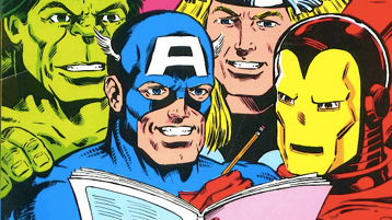 "Winter Reading Club- ""Be A Superhero Reader"""